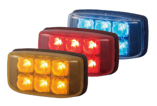 LED Auxiliary Warning Light